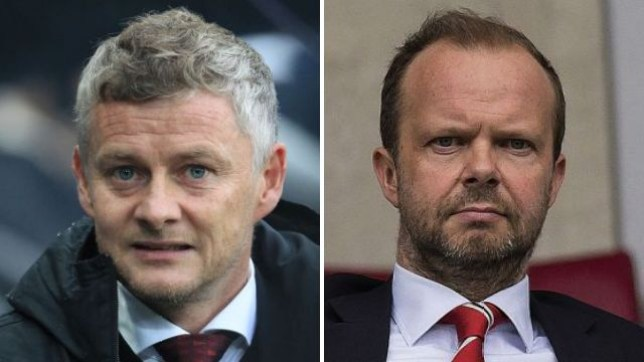 Ole Gunnar Solskjaer is happy with the structure at Manchester United