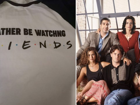 Shopper calls out Primark for typo on Friends T-shirt