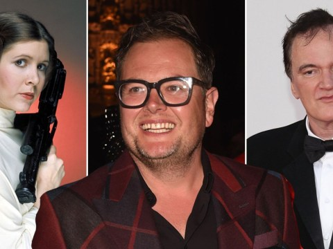 Carrie Fisher handed out cookies and milk to sweltering Ewoks on Star Wars set: Revelations from Alan Carr's There's Something About The Movies