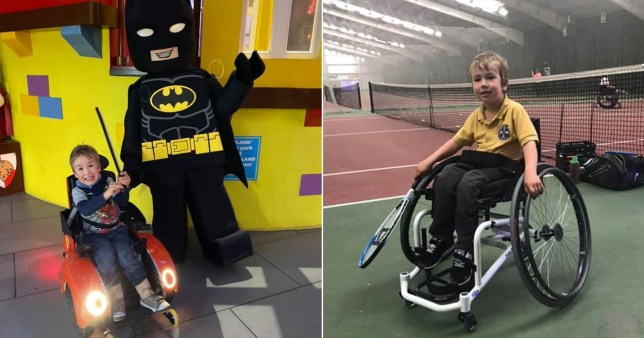 Disabled boy, 5, 'humiliated' at Legoland as he's told to prove he can walk