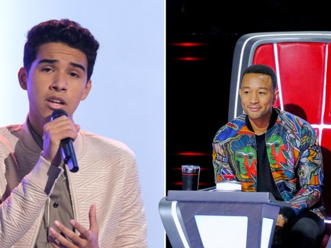 The Voice US's John Legend shook as 14-year-old contestant blows judges away