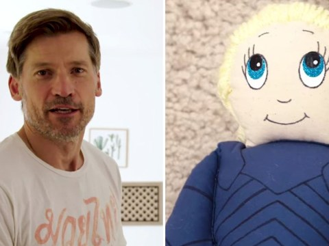 Game Of Thrones star Nikolaj Coster-Waldau owns a Brienne Of Tarth doll and our hearts have ruptured
