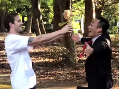 PewDiePie dances with Japanese street performer as he and Marzia enjoy second honeymoon