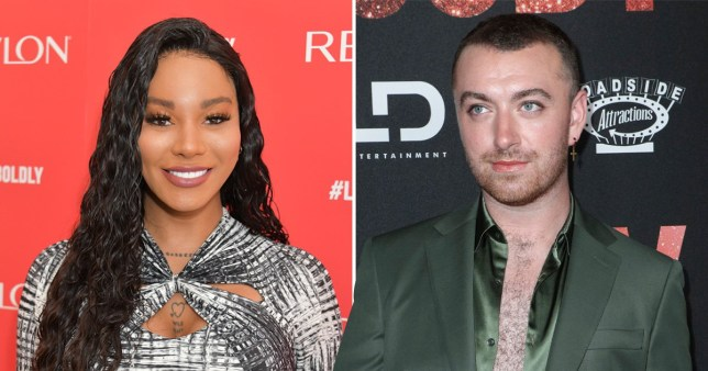Munroe Bergdorf and Sam Smith