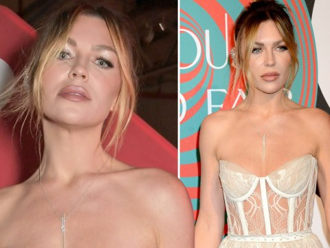 Abbey Clancy rocks see-through look for charity bash and we're obsessed