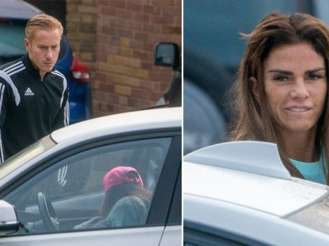 Katie Price knows 'she's in hot water' as she's snapped sneaking out of Kris Boyson's house
