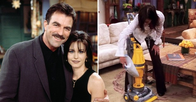 Was Richard to blame for Monica's cleaning obsession?