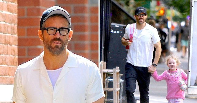 Ryan Reynolds on daddy duties with daughter James after wife Blake Lively 'welcomes third child'