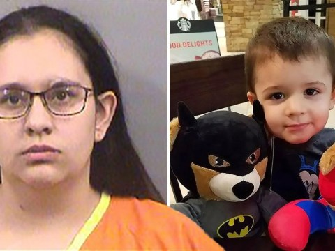 Mum killed her son, 2, 'after he refused to eat a hot dog'