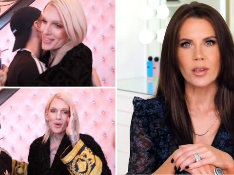 Jeffree Star gushes about 'little brother' James Charles in awkward clip after Tati Westbrook drama