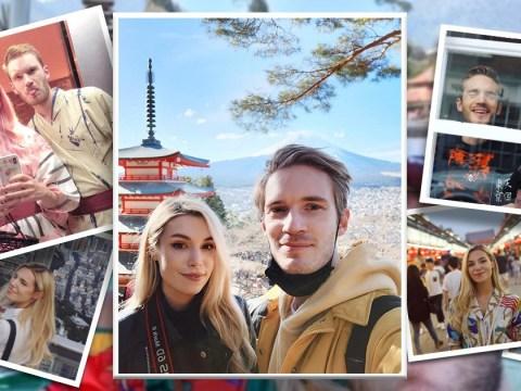 Inside PewDiePie and Marzia Kjellberg's Japanese getaway as they enjoy second honeymoon