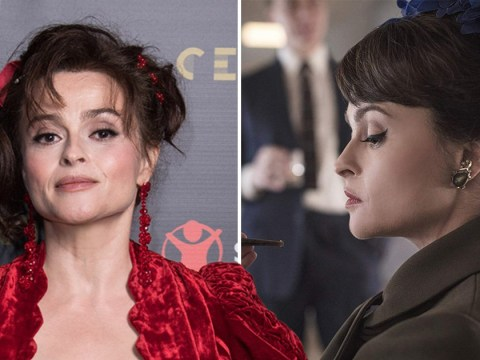 Helena Bonham Carter admits it's 'daunting' playing Princess Margaret in Netflix series The Crown