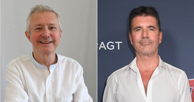 Louis Walsh and Simon Cowell