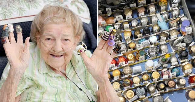 Gladys wants Guinness World Record for her 27,000 thimbles