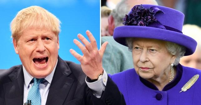 Boris Johnson will 'dare Queen to sack him' in bid to deliver Brexit