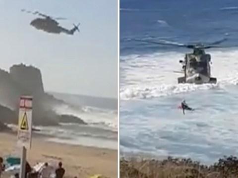 British man, 34, and woman, 33, drown off Portuguese beach