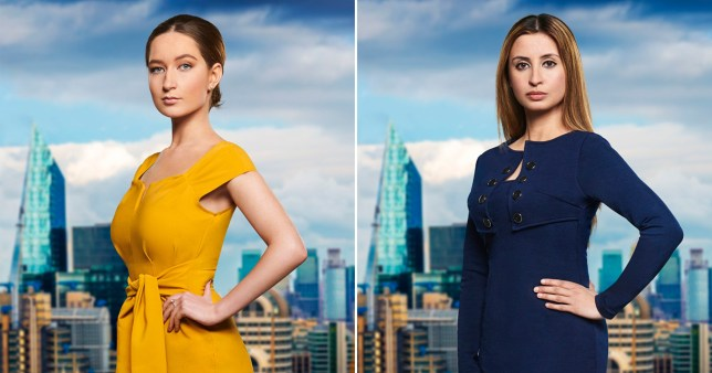 The Apprentice candidates Lottie Lion and