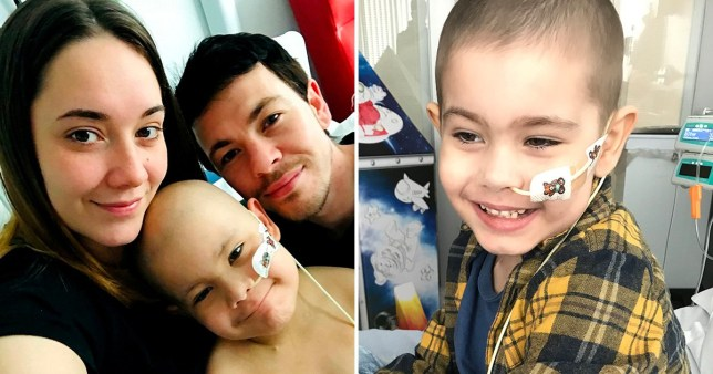 Strangers raise £500,000 for boy, 5, to get cancer treatment