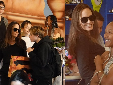 Angelina Jolie soaks up family time with her kids after admitting she 'lost herself' during Brad Pitt split