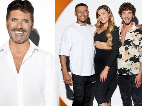 The X Factor Celebrity puts stars in the spotlight in new glam photos – and Simon Cowell gets in on the act too