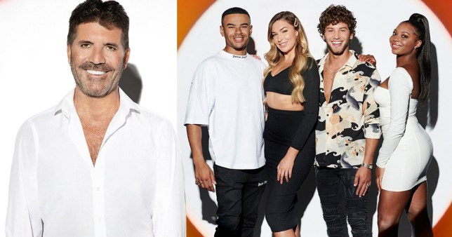Simon Cowell 'didn't have a clue' who any of the acts were on X Factor: Celebrity before filming