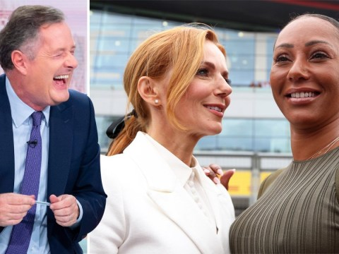 Piers Morgan makes naughty joke about Spice Girls' Geri Horner and Mel B romance as tour is 'called off'