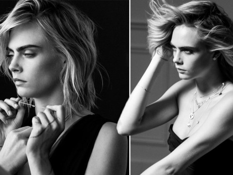 Cara Delevingne unveiled as face of Dior's fine jewellery collections in playful shoot