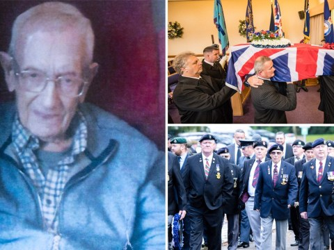 Hundreds turn out for funeral of WWII veteran who died at 103