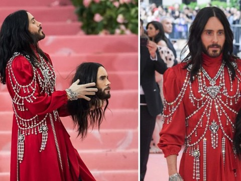 Jared Leto is convinced someone stole the $11,000 Gucci replica head he took to the Met Gala
