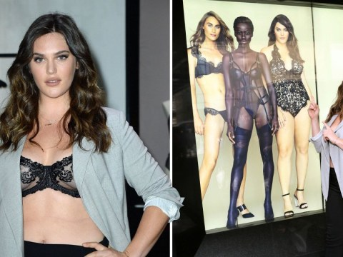 Victoria's Secret uses size 16 model for the first time in new lingerie campaign