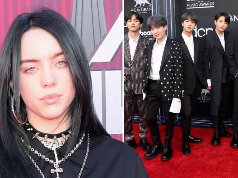 Billie Eilish brands fans 'mean' after backlash to BTS collab idea