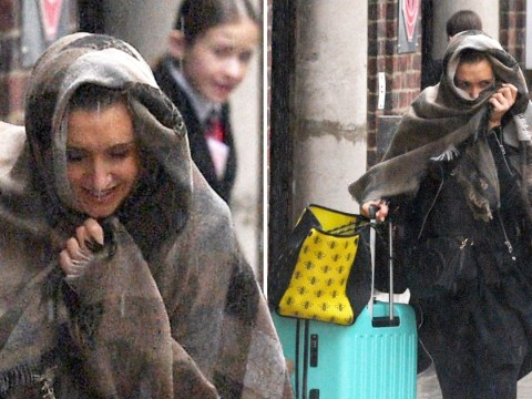 Strictly's Catherine Tyldesley gets absolutely drenched after rehearsing Beyoncé Charleston