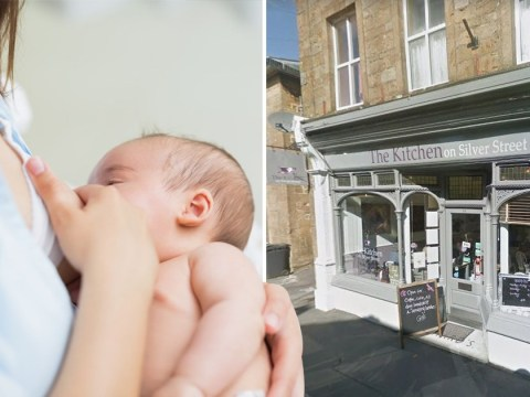 Café owner defends asking breastfeeding new mum to 'cover up'