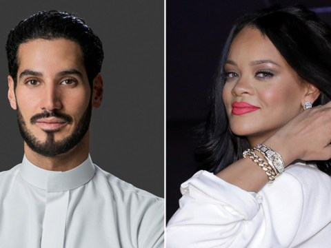 Rihanna teases dream wedding dress as she reveals romance with Hassan Jameel is 'going really well'