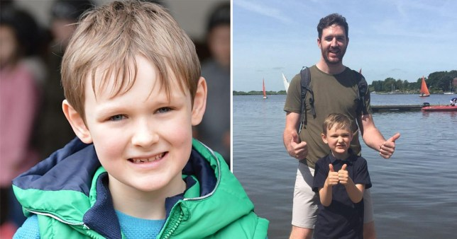 Ian Kettlewell's son Myles was allegedly abducted by the boy's mothe