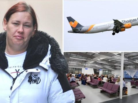 Mum jailed over 'terrifying' drunken rage on board Thomas Cook flight