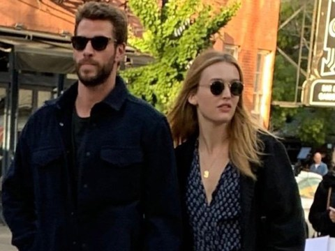 Liam Hemsworth pictured holding hands with Aussie actress Maddison Brown as he moves on from ex-wife Miley Cyrus