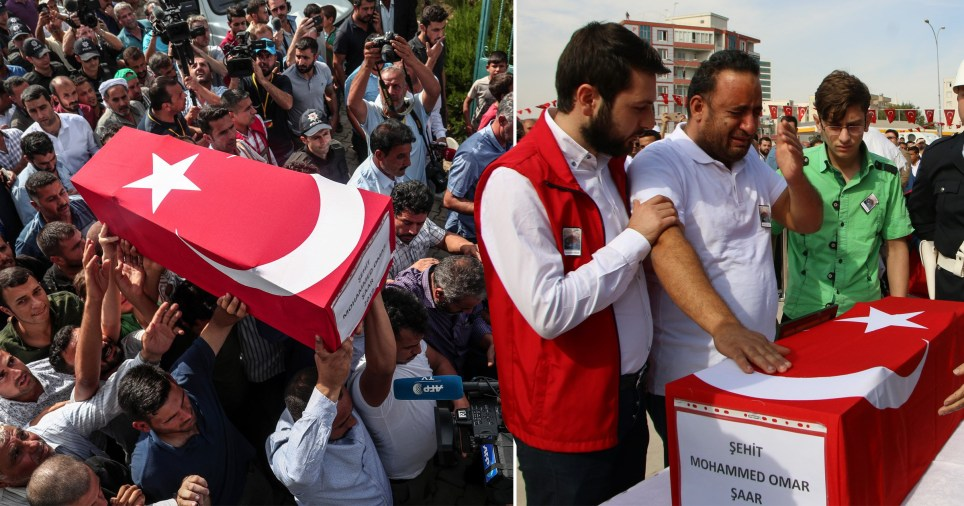 Syrian refugee baby was killed by mortar yesterday in Turkey