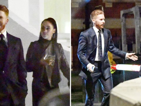 Strictly Come Dancing's Neil Jones and Alex Scott head back to her house after glam night out together