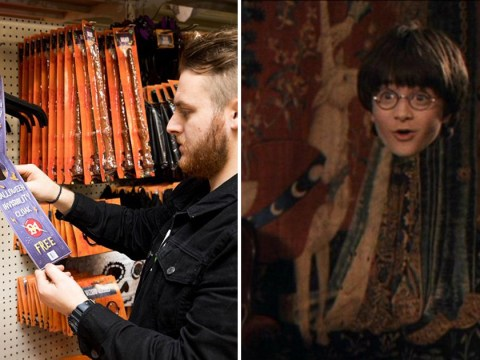 Poundland is selling Harry Potter-inspired invisibility cloaks for free