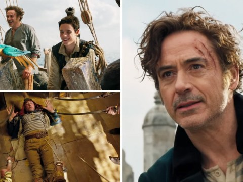Fans are loving Robert Downey Jr and Tom Holland reuniting in new trailer for upcoming film Dolittle