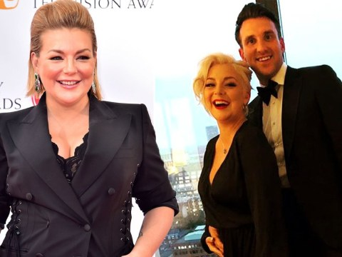 Sheridan Smith announces she's expecting baby boy with adorable gender reveal Instagram video