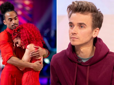 Joe Sugg finds it 'unusual' that phone lines were suddenly jammed for Strictly's Dianne Buswell and Dev Griffin