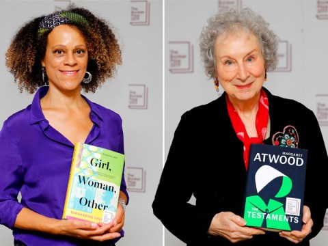 Margaret Atwood wins Booker Prize jointly with Bernardine Evaristo as judges break rules