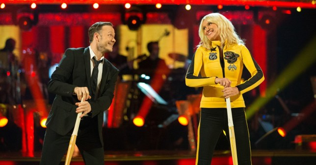 Anneka Rice admits Strictly Come Dancing helped her get in touch with feminine side