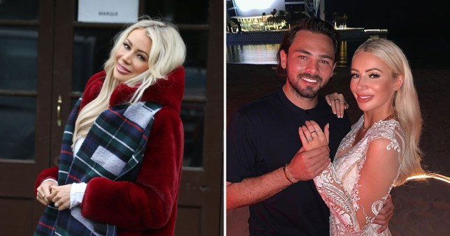 Towie's Olivia Attwood appears to leave new engagement ring at home