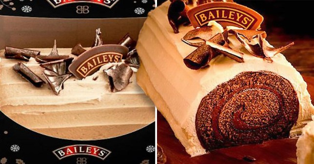 Asda Is Selling A Baileys Chocolate Yule Log For Just 5