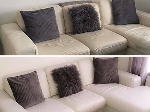 Mums share genius hack to restore cracked leather sofa for less than £20