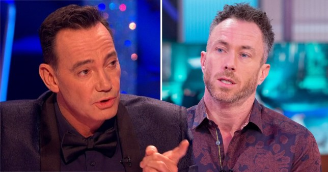 Craig Revel Horwood hits out at James Jordan