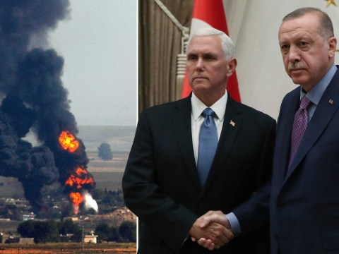 Turkey to halt military offensive in Syria, after reaching deal with US